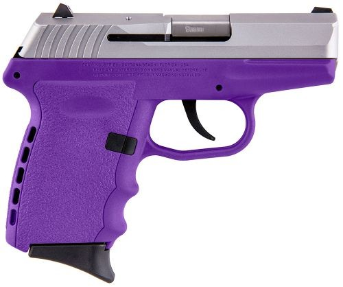 SCCY CPX-2 Purple / Stainless Steel 9mm 3.1-inch 10 Rd