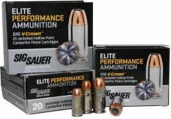 Sig Sauer Elite Performance Ammunition