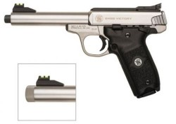 Smith Wesson Smith WessonSW22 Victory Rimfire Pistol - Stainless Steel (Full Size)