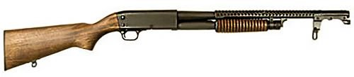 Inland Mfg M37 Trench Shotgun Pump Action 12ga 20-inch  4rds