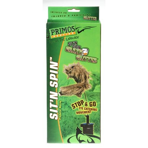 Primos Sit-N-Spin Predator Decoy 000 - Hunting Equipment And Accessories, Decoys And Accessories at Academy Sports