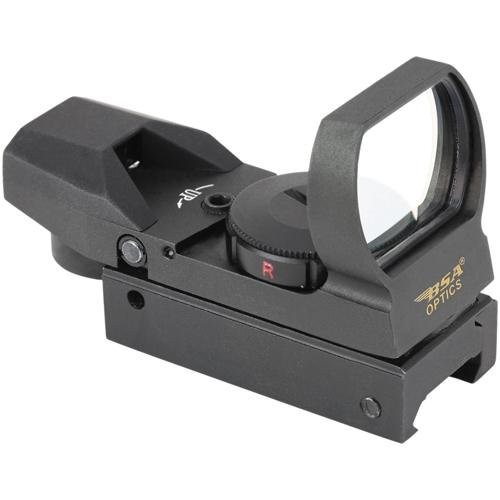 BSA Optics Optics Panoramic Sight With Red/Green/Blue Dot Reticles PMRGBSCP