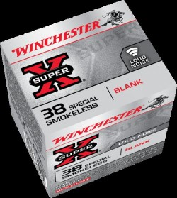 Winchester .38SPL Blanks 50Rds