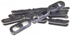 TROY SQUID GRIPS 6PK MLOK RAIL ENHANCEMENT BLK