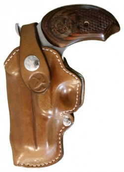 Bond Arms Belt Loop Holster Left Handed Snakeslayer Iv Leather Tan