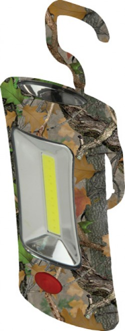 Rivers Edge RIVERS EDGE CAMO MAGNETIC SWIVEL WORK LIGHT 3AAA 12-PACK