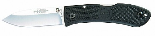 KA-BAR 4062 Dozier Folding Knife - Stainless Steel