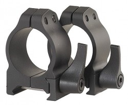 Warne Quick Detach Rings w/Matte Finish 200LM
