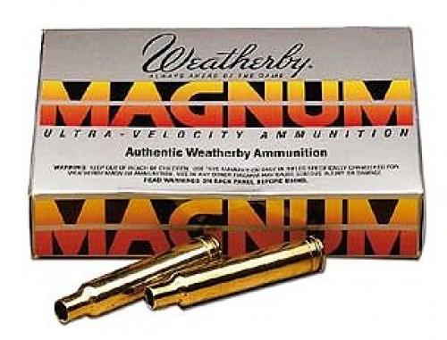 Weatherby Rifle Brass Per 20