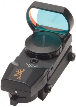 Browning Buckmark Reflex Sight w/7-Position Brightness Rheostat & Selectable Reticles