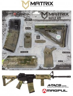 Matrix Diversified Industries MAGMIL24-FG Magpul Kit A-TACS CAMO