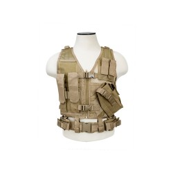 NCStar Tactical Vest Childrens/Tan