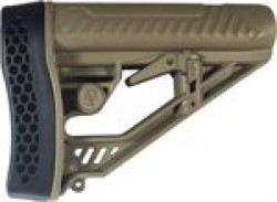 Adaptive Tactical ADAPTIVE TACTICAL STOCK AR-15 MIL-SPEC POLYMER FDE