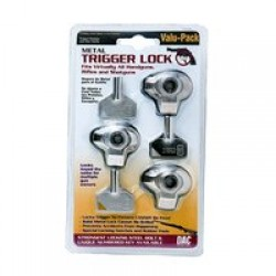 DAC TECHNOLOGIES TRIPLE PACK METAL TRIGGER LOCK - CLM