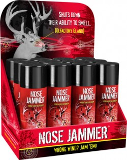Nose Jammer NOSE JAMMER FIELD SPRAY 4OZ. 12-PK COUNTER DISPLAY!