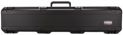 SKB Cases Single Rifle Case, No wheels, Black, 50 1/2 x 11 3/4 x 6 3i-4909-SR