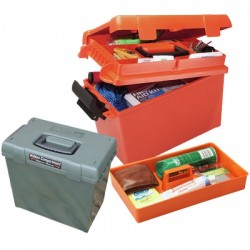 SPORTSMENS UTIL DRY BOX MED - ORANGE