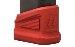 ZEV EXTNDD BASE PAD +5 FOR GLOCK RED