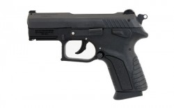"Grand Power GPCP380 CP380 Single/Double 380 Automatic Colt Pistol (ACP) 3.3"" 12+1 Black Polymer Grip Blued Steel"
