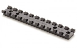 Tactical Solutions 10/22 Picatinny Scope Rail and Compensator - Silver