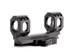 American Defense Manufacturing AD-SCOUT-S Scope Mount, Standard Lever, Black, 30mm, AD-SCOUT-S 30 STD