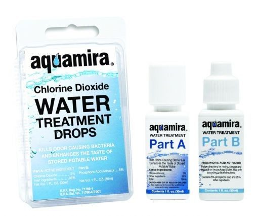 Aquamira Water-Treatment Drops (1 OZ)