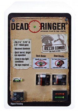Dead Ringer DR4331 Killer Combo Turkey/Wingshooting Fiber Optic