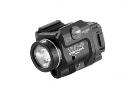 Streamlight TLR-8 Tactical Weapon Light w/Laser Sight, Rail Mounted, 500 Lumen LED, 640-660nm Red Laser, 1 x CR123A Battery, Black, 69410
