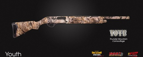 Escort Yote Synthetic Camo 12Ga 28-Inch 5rd