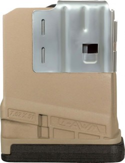 Lancer L7AWM 10 Round Magazine Opaque Dark Earth L7-10-FDE-10RD