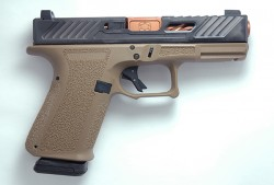 SHD MR918 ELTE 9MM 15R BNZ FDE