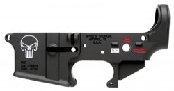 Spike's Tactical  Punisher Semi-Automatic Lower Reciver 223/ 556 Black Color Filled