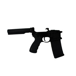 Franklin Armory 2032-BLK Liberta Billet Lower Receiver with BFSIII Blacl