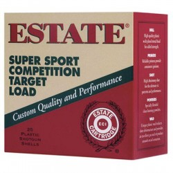 Estate Cartridge SS12L75 12GA Super Sport Target 11/8 25rds