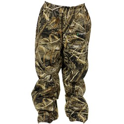 Frogg Toggs Original Pro Action Rain Pant for Men - Realtree Max-5 - 2XL