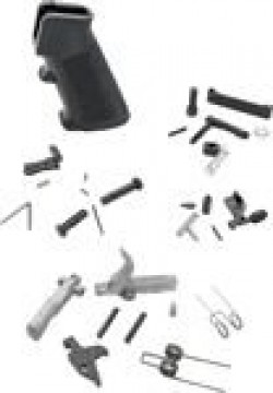 Anderson Manufacturing AM-15 Lower Parts Kit 5.56mm Black AM556-LWPARTS