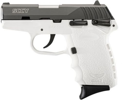 SCCY CPX-1 Black / White 9mm 3.1-inch 10Rd