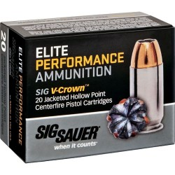 SIG Sauer Elite Performance FMJ Ammunition - Copper
