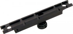 CAA AR15 Carry Handle Mounted Rail Black