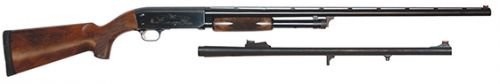 "Ithaca Model 37 Upland Combo, Pump Action, 12 Gauge, 26""/24"" Barrels, 4+1 Rounds"