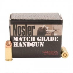 Nosler 51285 Match Grade Handgun 9MM  115GR