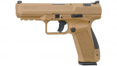 Canik TP9SA MOD.2 Flat Dark Earth 9mm 4.7-inch 18Rds Warren Tactical sights