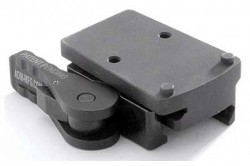 American Defense Manufacturing Trijicon RMR Mount, Standard Lever, Black, Left Hand, AD-RMR-LH STD