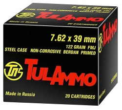 TulAmmo Steel Case Rifle Ammunition