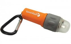 ULTIMATE SURVIVAL TECHNOLOGIES SPLASHFLASH FLASHLIGHT ORANGE