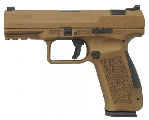 Century CANIK TP-9 Burnt Bronze 9mm 4-inch 18rd