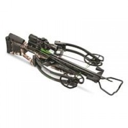 Horton NH15001-7520 Storm RDX Package with 4x32mm Scope, Arrows/Quiver, Dedd Sled 50, Mossy Oak Treestand